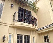 Balcony Railing 02 - by Isaac's Ironworks 818-982-1955