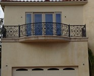 Balcony Railing 08 - by Isaac's Ironworks 818-982-1955