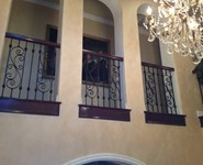 Balcony Railing 10 - by Isaac's Ironworks 818-982-1955