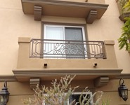 Balcony Railing 23 - by Isaac's Ironworks 818-982-1955