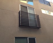 Balcony Railing 26 - by Isaac's Ironworks 818-982-1955