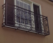 Balcony Railing 29 - by Isaac's Ironworks 818-982-1955