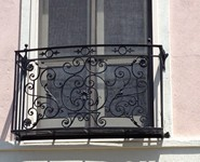 Balcony Railing 34 - by Isaac's Ironworks 818-982-1955