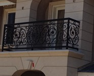 Balcony Railing 37 - by Isaac's Ironworks 818-982-1955