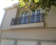 Balcony Railing 38 - by Isaac's Ironworks 818-982-1955