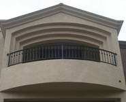 Balcony Railing 43 - by Isaac's Ironworks 818-982-1955