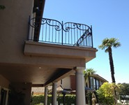Balcony Railing 49 - by Isaac's Ironworks 818-982-1955
