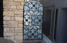 After Custom Gate Design Change with Tempered Glass