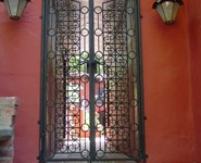 Custom Entrance Door 02 - by Isaac's Ironworks 818-982-1955