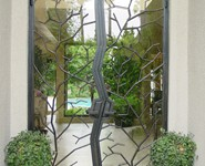 Custom Entrance Door 03 - by Isaac's Ironworks 818-982-1955