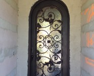 Custom Entrance Door 05 - by Isaac's Ironworks 818-982-1955
