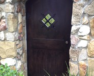Custom Entrance Door 06 - by Isaac's Ironworks 818-982-1955