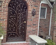 Custom Entrance Door 07 - by Isaac's Ironworks 818-982-1955