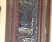 Custom Entrance Door 08 - by Isaac's Ironworks 818-982-1955