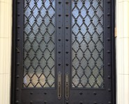 Custom Entrance Door 16 - by Isaac's Ironworks 818-982-1955