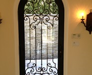 Custom Entrance Door 19 - by Isaac's Ironworks 818-982-1955