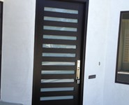 Custom Entrance Door 21 - by Isaac's Ironworks 818-982-1955