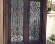 Custom Entrance Door 23 - by Isaac's Ironworks 818-982-1955