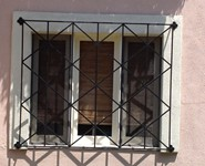 Window Guards 18 - by Isaac's Ironworks 818-982-1955